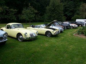 Exposition vieilles voitures