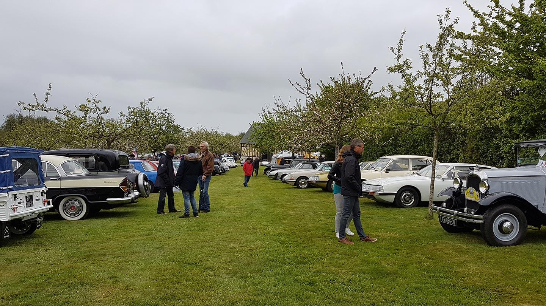 Exposition vieilles voitures Normandie